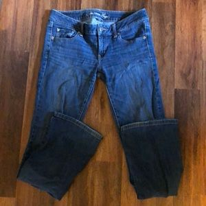 American Eagle Favorite Boyfriend stretch jeans.